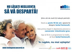 """DO NOT LET NEGLIGENCE SEPPARATE YOU""   – colorectal cancer campaign"