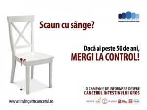 """""""SIGNS OF BLOOD"""" – colorectal cancer awareness campaign"""